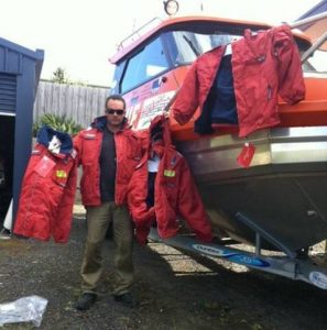 Ocean Rescue Inflating Waterproof Vests