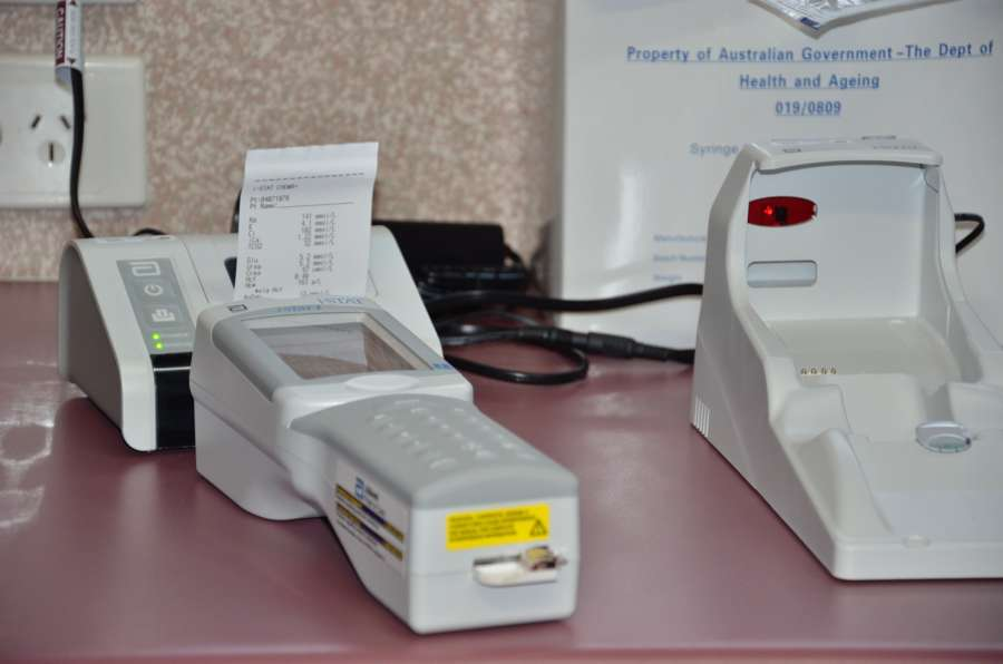 Istat Blood Testing Machine