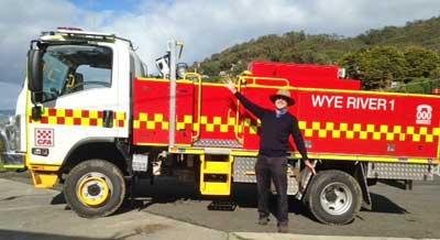 Wye River CFA Truck